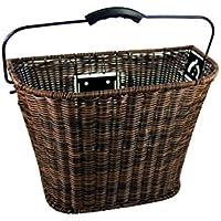 32 x 40 x 19 cm Fischer Bicycle Luggage Rack Basket Black