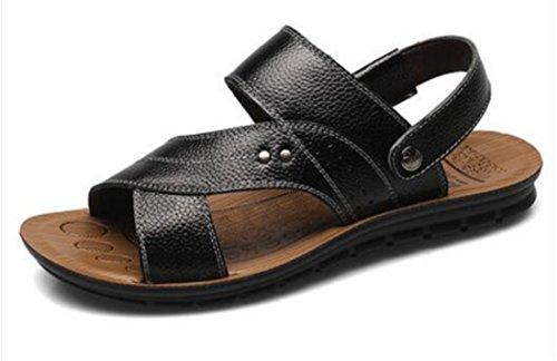 Men's Zapatillas Hombre Genuine Leather Sandals 4