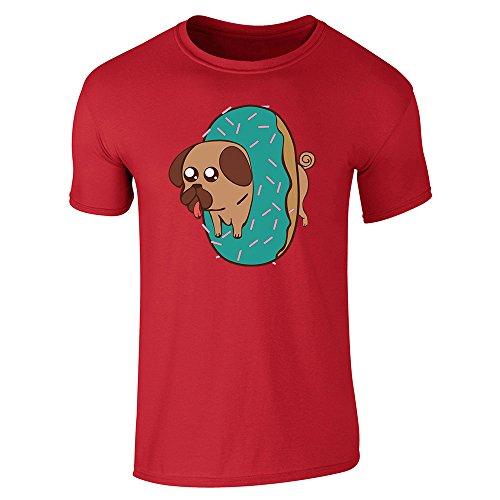 Pop Threads Herren T-Shirt Gr. XXL, rot