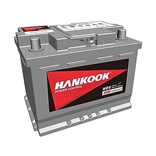 Hankook AGM 560 20 Start-Stop Autobatterie 60Ah 680A/EN, wartungsfrei