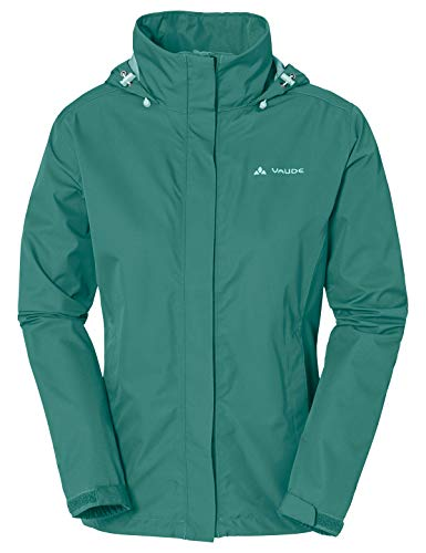Vaude Damen Escape Light Jacket Jacke, Nickel Green, 38
