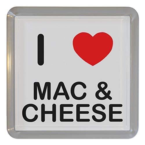 I Love Mac N Cheese - Plastica trasparente sottobicchiere del tè/Sottobicchiere da birra