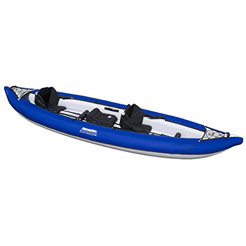 415xO8jGrDL. SS500  - Aquaglide Chinook XP inflatable kayak, 3 person package, Tandem XL