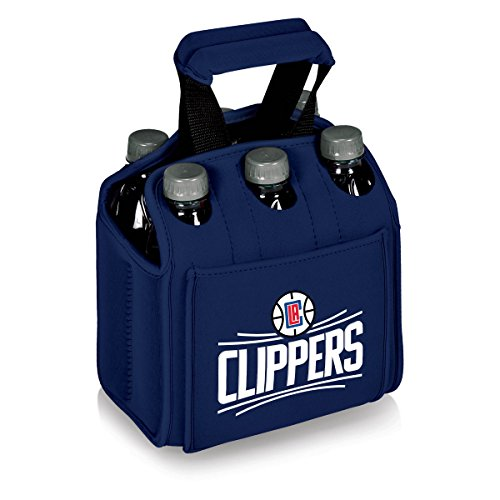 Picknick Zeit 608-00-138-124-4Los Angeles Clippers- 'Six Pack' Getränk Carrier (Navy), Art. Farbe: Marineblau, Eine Größe Marine Clipper