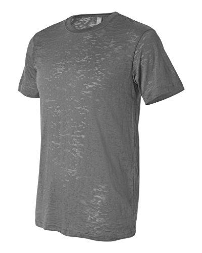 Bella Canvas Herren T-Shirt Gris - Asphalte