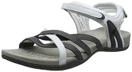 Hi-Tec Savanna II, Sandali da Arrampicata Donna, Bianco (White/Grey), 39 EU