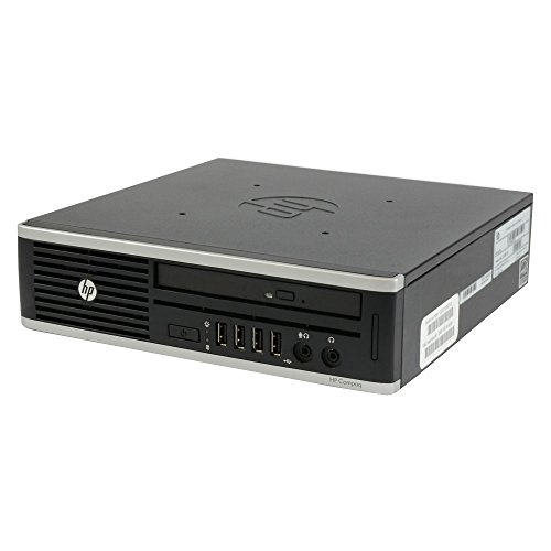 HP Compaq Elite 8300 Desktop, Intel Core i5, 2.9GHz, 8GB RAM, 320GB HDD, DVD-RW, Win10Pro (Generalüberholt) (Pc Mini Hp)