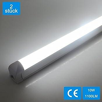 OUBO 60cm LED Leuchtstoffröhre komplett Set mit Fassung