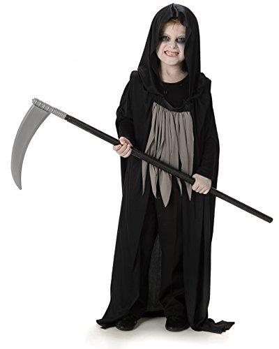 Dunkles Sensenmann Jungen Abendkleid Halloween Gespenstisches Gruseliges Kind -