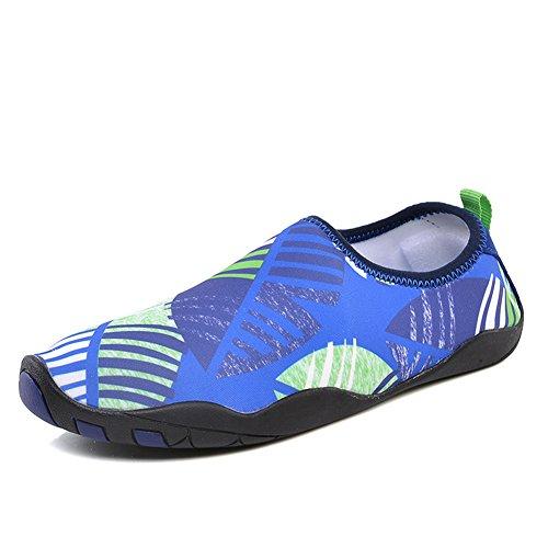 BELECOO Chaussures Aquatiques Mixte - Adultes Séchage Rapide Eau Chaussures Plage Chaussures Extérieure Imperméable Chaussures de Natation Surf Chaussures pour Femmes Hommes