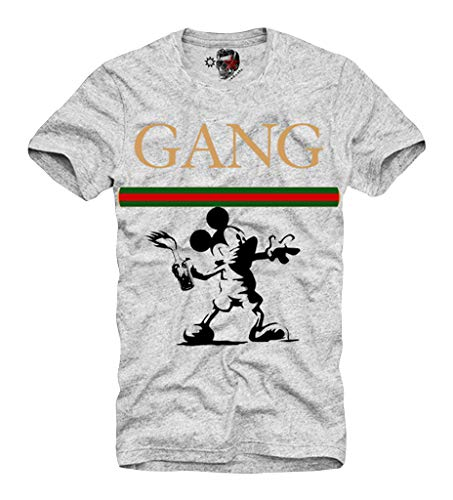 05ad48825faebb E1Syndicate T Shirt Gang Banksy Riot Supreme SOLARHU Fear NMD God of Rebel