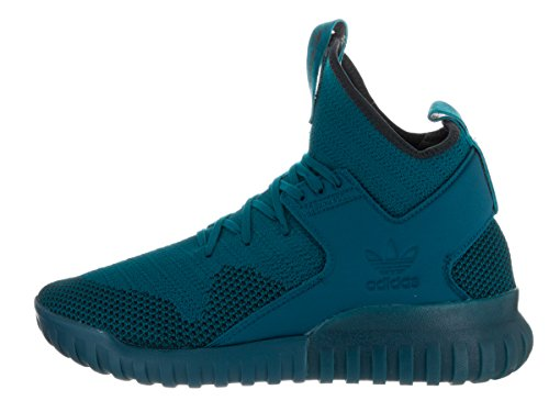 Adidas Tubular X Pk Hommes Synthétique Baskets Tecste-Tecste-Black