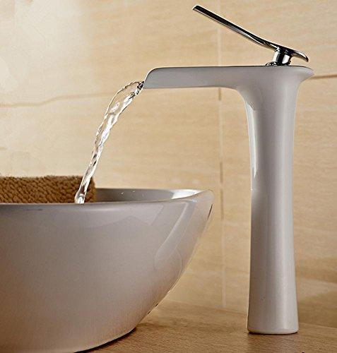 gzd-tout-cuivre-peinture-blanc-galvanisation-robinet-chute-deau-salle-de-bain-personnalite