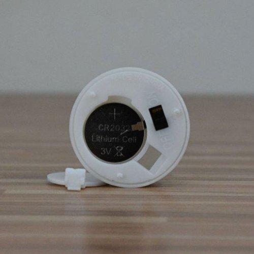 Gladle sin llama velas LED de té (luz LED, funciona con pilas, sin aroma velas