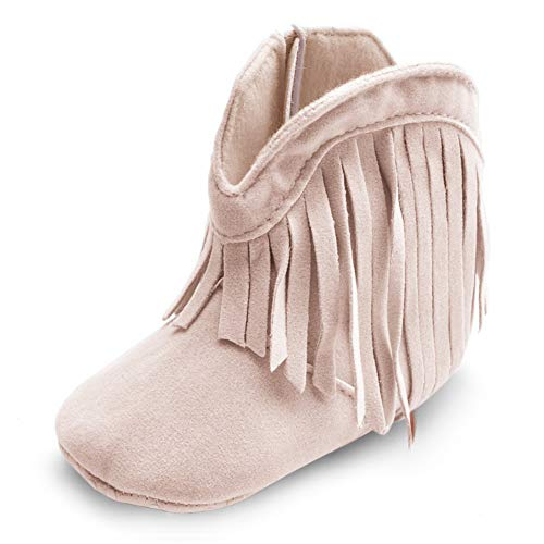 ESTAMICO Baby-Girls Cowboy Boots
