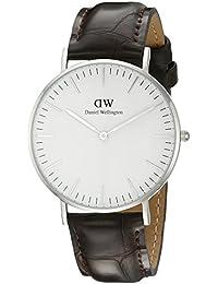 Daniel Wellington Classic Damen-Armbanduhr Analog Quarz Leder - DW00100055