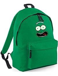 Rick & Morty's Pickle Rick Backpack Rucksack Adult Swim, Cartoon Network (Design 2)