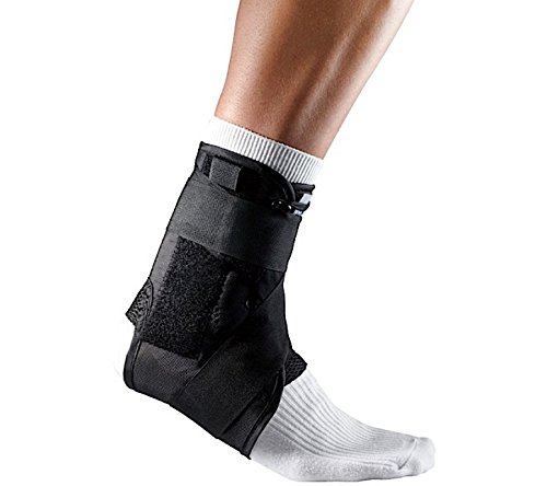 SDA Elite caviglia supporto e stabilizzatore removibile con stecche e cinghie di compressione da LP-caviglia (Ankle Brace Facile Applicazione Brace)