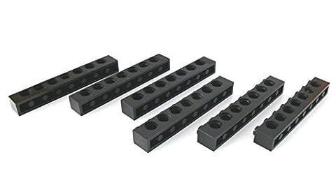 LEGO ® - Burg Ritterburg Teile Zubehör - 2 Felsen - 8 x 3 x 7 - alt dunkelgrau