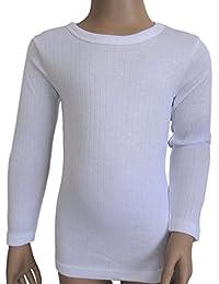 LOT de 3 Sous Vêtements Chauds Maillots de Corps manches longues MIXTES Enfants Filles-Garçons.