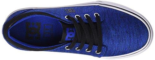 DC Shoes  Trase TX SE, Sneakers Basses garçon Blue/Black/White