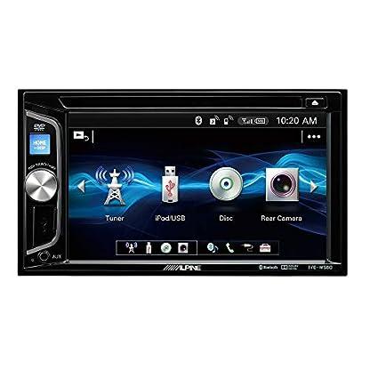 Alpine-IVE-W560BT-Multimedia-System-200-W-WVGA-Bildschirm-eingebauter-CDDVD-Player-mit-Bluetooth-2-Vorverstrkerausgnge-Schwarz
