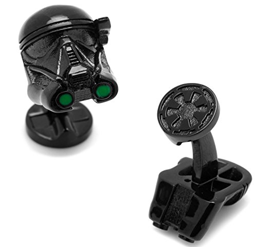 masgemelos Manschettenknöpfe Death Trooper 3d Rouge One Star Wars Cufflinks