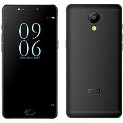 ELEPHONE P8 Téléphone Portable, Android Dual SIM Smartphone Débloqué 4G LTE, 5,5 Pouces Écran FHD, Helio P25 2,5GHz Octa Core 6GB+64GB, 16MP+21MP caméra, Corp Ultra-Mince de 0.9mm - Negro