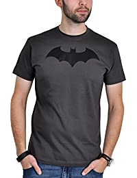T-shirt Batman avec Bat Logo Comic Symbol gris