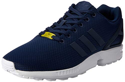 Adidas ZX Flux, Unisex-Adults' Low-Top Sneakers, Blue (New Navy/New Navy/Running White), 10 UK (44 2/3 EU)