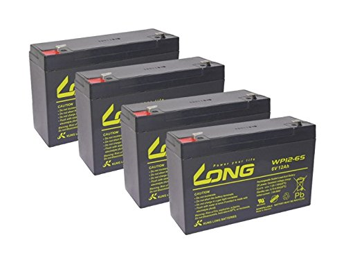 USV Akkusatz kompatibel APC 800RT 800 RT AGM Blei Batterie Ersatz wartungsfrei -