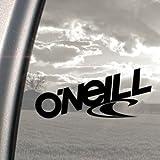 'O'Neill'-Aufkleber, schwarz, für Skateboard Surfboard Snowboard Surfen