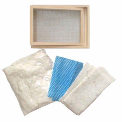Papierschöpfen Einsteiger Set DIN A5 Empfehlung [Spielzeug]