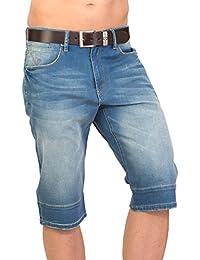 Shorts pour hommes COOL - medium blue JSM223 med blue par GEAR 100% coton Denim