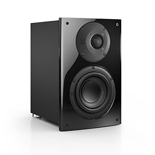Nubert nuVero 30 Regal-/Dipol-Lautsprecher 2-Wege (2 x 2.6cm Hochtöner,15cm Tieftöner,150/210Watt) Stück, Diamantschwarz