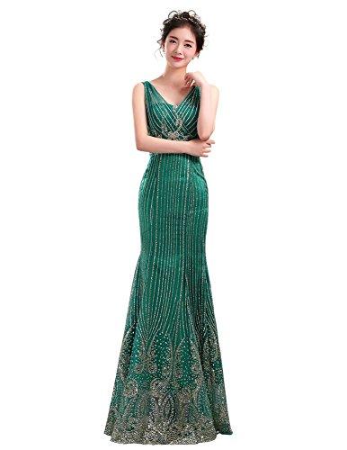 Drasawee - Robe - Moulante - Femme green