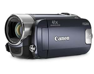 """Canon FS200 Caméscope numérique SD Zoom Optique 37x Ecran LCD 2,7"""" Bleu"""