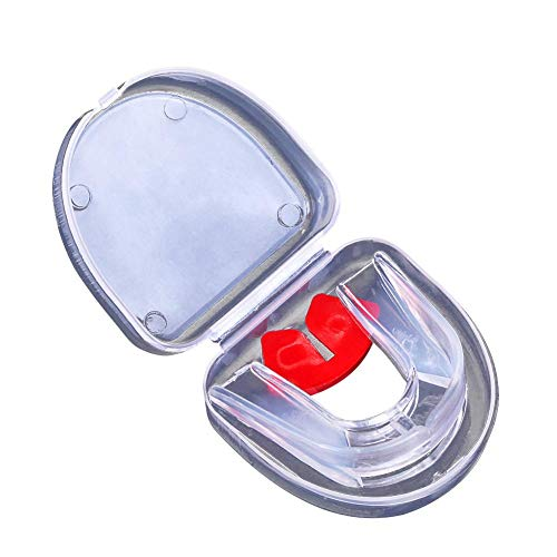 Zahnschutz Mundschutz transparent Mundschutz für Basketball Boxen Sanda Taekwondo aus medizinisches Silikon
