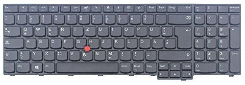 WishingDeals Deutsche Tastatur für Lenovo IBM ThinkPad Edge E570 E575