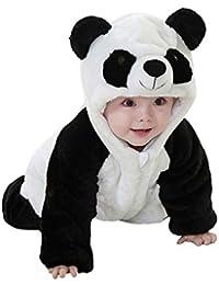 Covermason Bebé Unisex Lindo Panda Sudaderas con capucha Mono Bodies