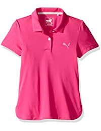 PUMA Golf Kids Girl's Pounce Polo JR (Little Kids/Big Kids) Hawaiian Ocean Polo Shirt SM (7 Big Kids)
