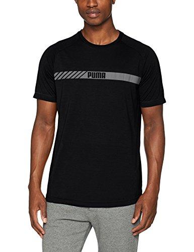 Puma Active Tec, T-Shirt Uomo Puma Nero