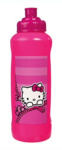 Scooli HKYX7252 Sporttasche Hello Kitty, ca. 35 x 16 x 24 cm Sportflasche 450 ml, pink