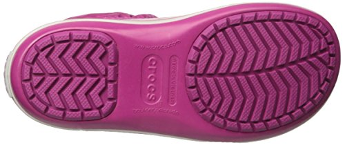 crocs Damen Winter Puff Boot Wom Schneestiefel Rot (Berry)