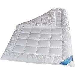Schlafmond Medicus Clean Allergiker Ganzjahresdecke, waschbar 95 Grad (135x200 cm)