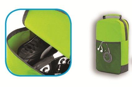 personalisierbar Sport Schuh & Zubehör Tasche schwarz - schwarz