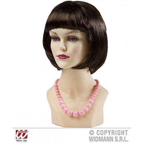 Geniale Perlen - Kette in rosa im Stil der 50er bis 70er Jahre
