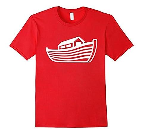 Men's Noah's ark T-Shirt 3XL Red