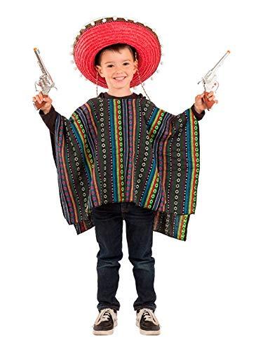 DISBACANAL Poncho Mexicano Infantil - Único