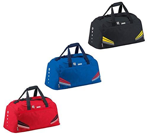 JAKO Siena Sporttasche Tasche in versch. Farben und Grössen Schwarz-Gelb